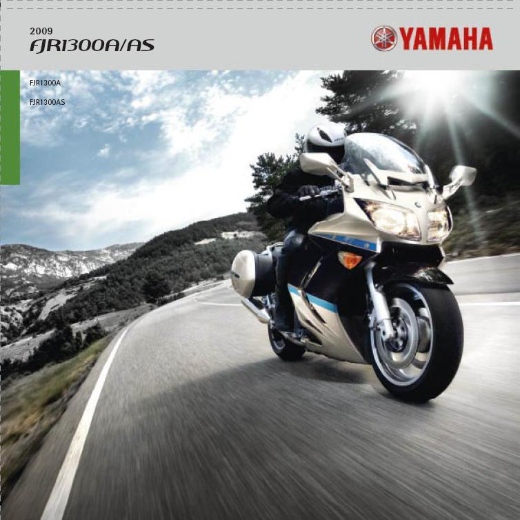 Yamaha FJR1300A/AS 2009