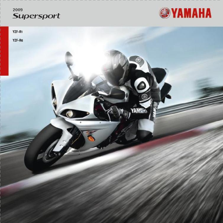 Yamaha Szupersport 2009