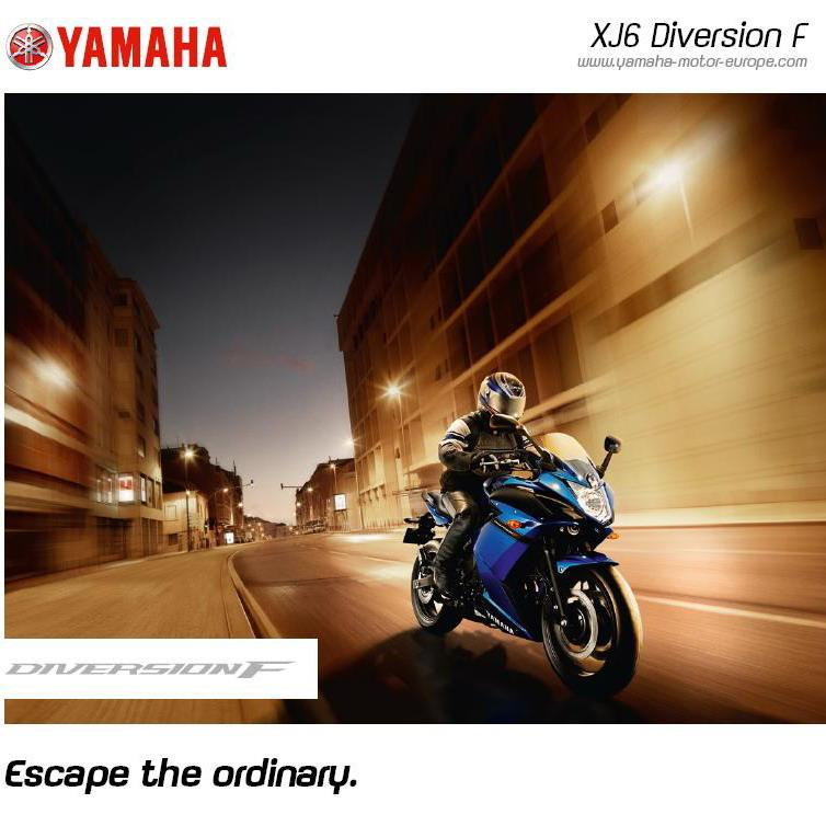 Yamaha XJ6F Diversion 2010